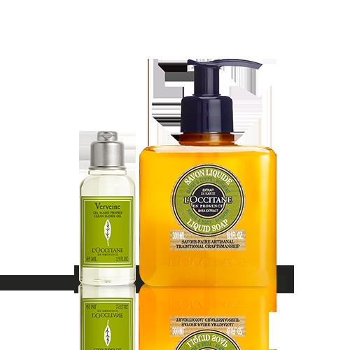 Duo Verbene Hygiene-Handgel & Flüssigseife