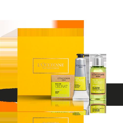 Gesichts- & Körperpflege-Geschenkbox Cédrat