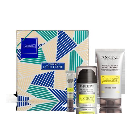 Gesichtspflege-Geschenkbox Cédrat