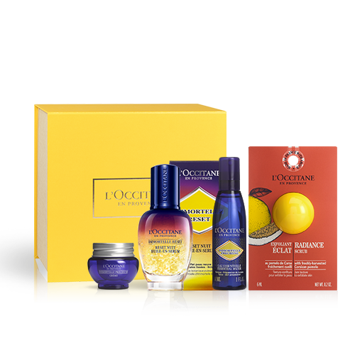 Gesichtspflege-Geschenkbox Reset Öl-in-Serum