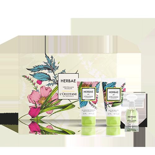 Kennenlern-Geschenkbox Herbae par L'OCCITANE