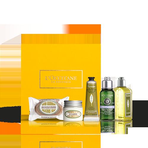 Körper- & Haarpflege-Geschenkbox fürs Wochenende