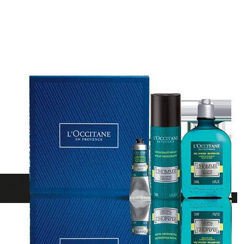 Körper- und Gesichtspflege-Geschenkbox L'Homme Cologne Cédrat