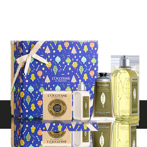 Körperpflege-Geschenkbox Verbene