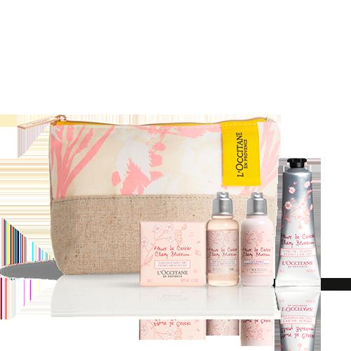 Körperpflege-Täschchen Kirschblüte