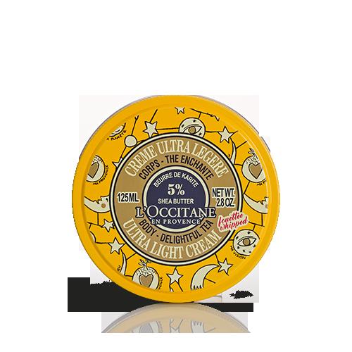 Karité Ultra leichte Körpercreme Bezaubernder Tee CASTELBAJAC