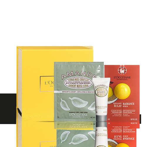 Peeling-Geschenkbox für Körper & Gesicht