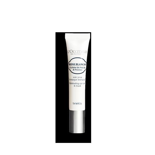 Reine Blanche Blütenweiße Augenpflege und Maske