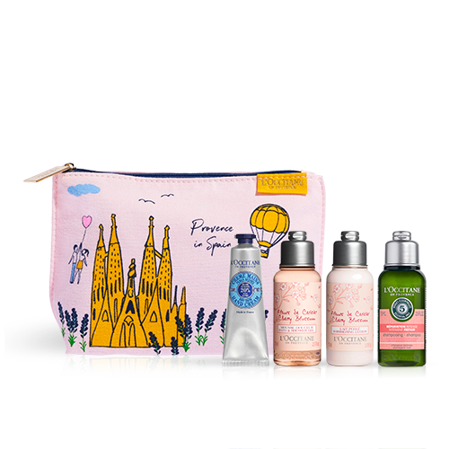 """Täschchen mit Beauty-Must-haves """"Provence in Spain"""""""