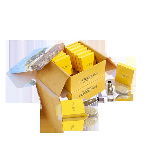 Verbene Geschenkbox für Gäste