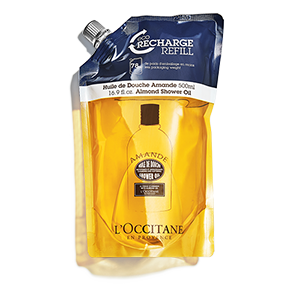 Almond Eco-refill Shower Oil 500ml - L'Occitane