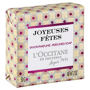 Joyeuses Fêtes Perfumed Soap