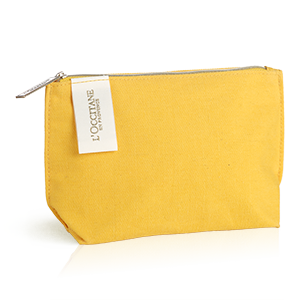 L'OCCITANE Iconic Yellow Pouch