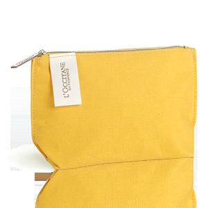 L'OCCITANE Iconic Yellow Pouch