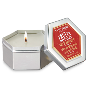 Red Fruits Scented Candle