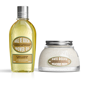 Almond Cleanse & Exfoliate Duo - L'Occitane