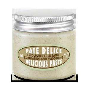 L'Occitane Almond Delicious Paste, an exfoliating body scrub for the entire body