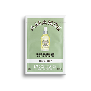 Almond Supple Skin Oil Sample - L'Occitane