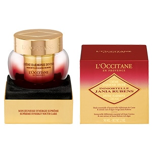 L'Occitane Harmony Cream-To-Oil, an anti wrinkle facial cream to restore youthful looking skin