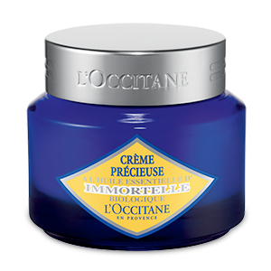 L'Occitane Precious Cream, anti-aging moisturizing light face cream