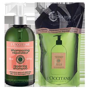 Aromachologie Repairing Shampoo 500ml & Eco-Refill Duo