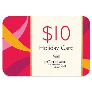 Canada $10 Holiday Card