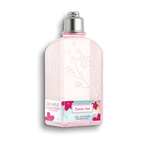 Cherry Blossom Cerisier Irisé Shower Gel - L'Occitane