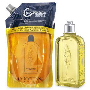 Citrus Verbena Shower Gel & Eco-Refill Duo