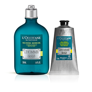 L'Homme Cedrat Shower and After-Shave Duo