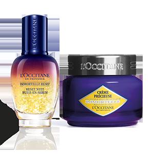 Precious Overnight Reset Duo - L'Occitane