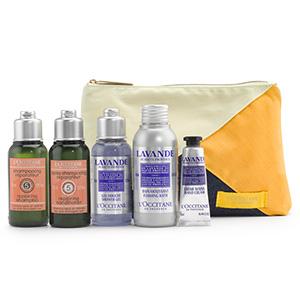 Relaxing Lavender Travel Set