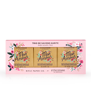 Rifle Paper Co. for L'OCCITANE Shea Soaps Trio - L'Occitane