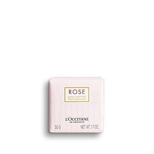 Rose Perfumed Soap - L'Occitane