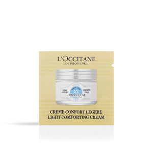 Shea Butter Light Comforting Cream Sample - L'Occitane