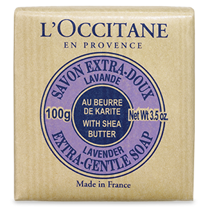 Small Shea Butter Extra Gentle Soap - Lavender