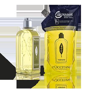 Verbena Shower Gel & Eco-Refill Duo