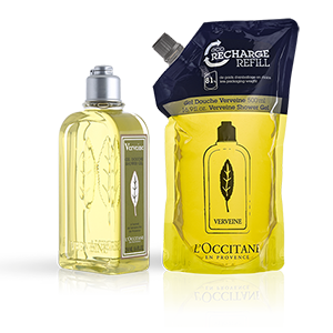 Verbena Shower Gel & Refill Duo - L'Occitane