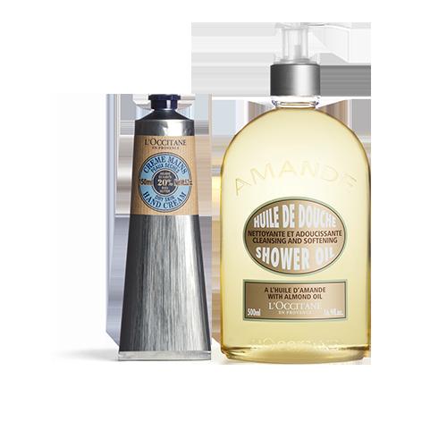 Almond Shower Oil & Shea Butter Hand Cream
