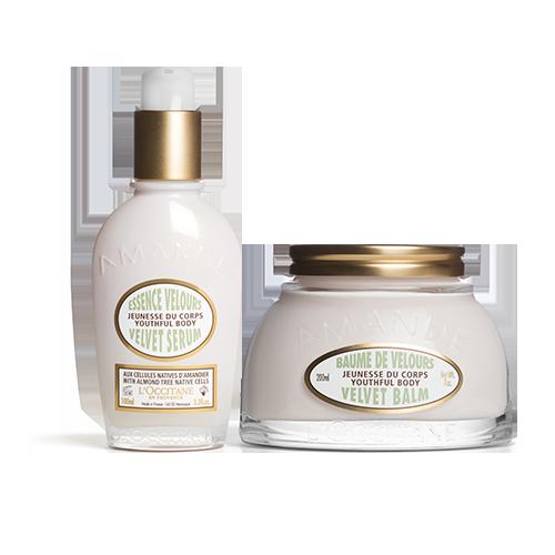 Almond Velvet Balm & Serum Duo