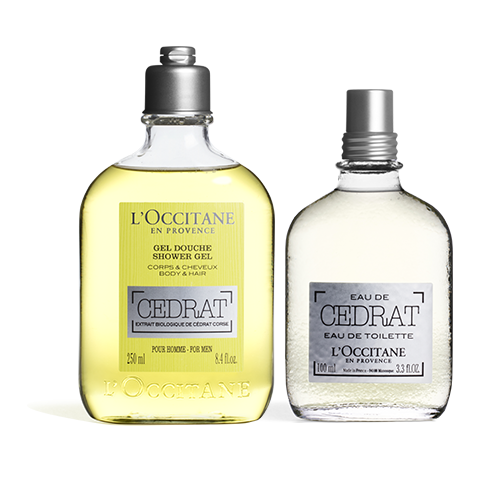 Cedrat Shower Gel & EDT Duo