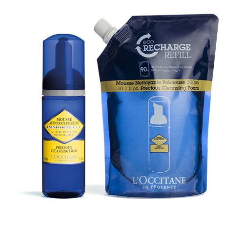 Immortelle Precious Cleansing Foam & Eco-Refill Duo