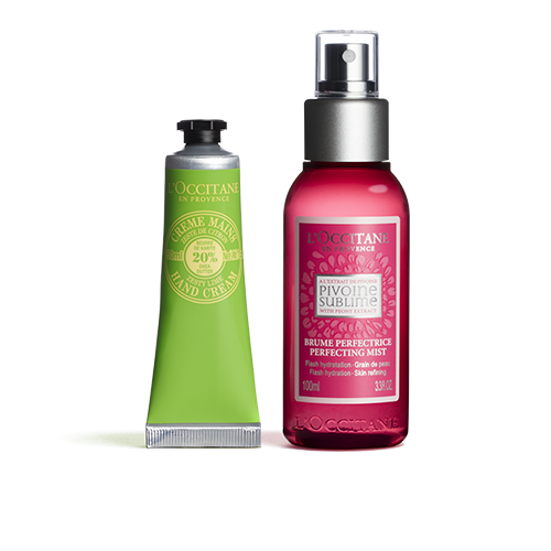 Perfecting Mist and Hand Cream Duo