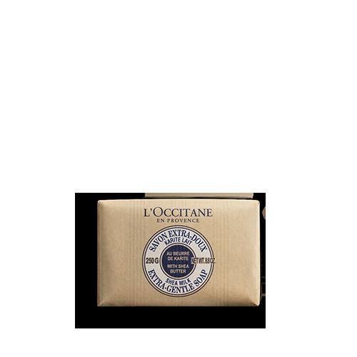 Shea Butter Extra Gentle Soap - Milk 250g