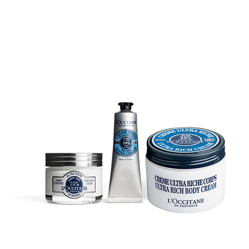 Shea Butter Nourishing Trio