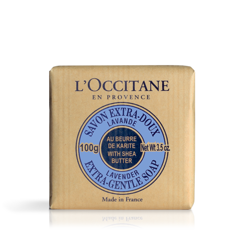 Shea Butter Extra Gentle Soap - Lavender 100g