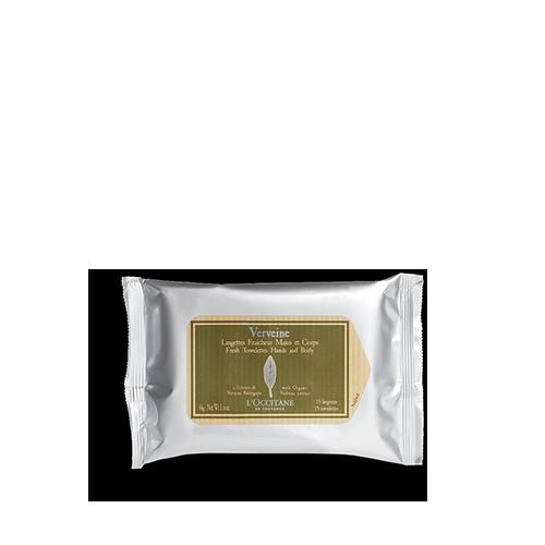 Verbena Refreshing Towelettes 55g