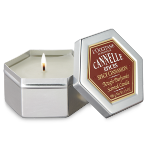 Spicy Cinnamon Scented Candle