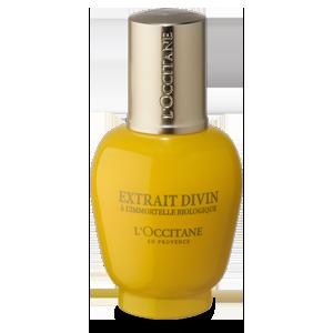 L'Occitane Divine Eyes, an anti-ageing under eye-gel cream for wrinkles, crows feet & dark cirlces