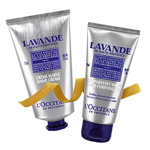 Lavender Soft Hand Set