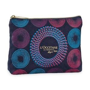 African Print Cosmetic Bag